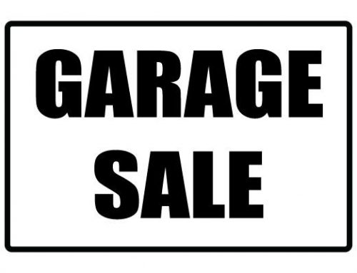 Checklist Garage Sale