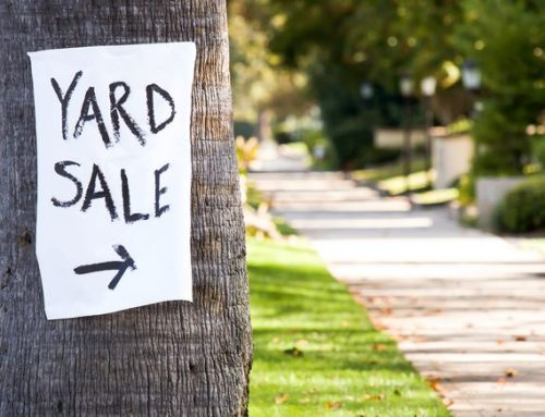 Checklist for Yard Sale