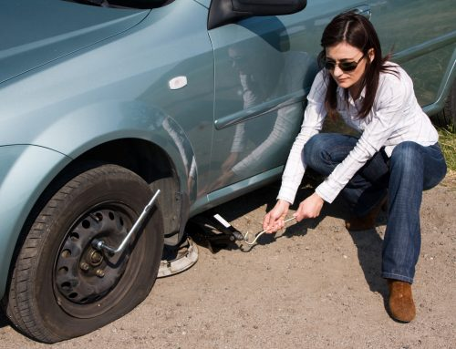 Checklist For Change A Flat Tire