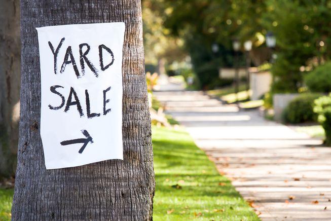 Checklist for Yard Sale